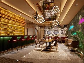黑旨烧肉-海雅缤纷城店主题餐厅设计