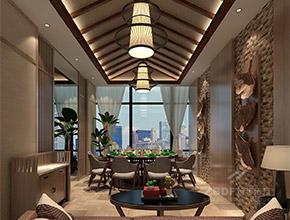 九方-四季椰林连锁生态餐厅设计效果图
