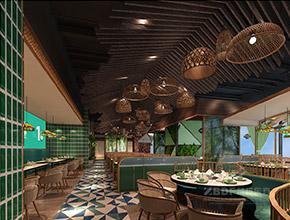四季椰林京基百纳店连锁餐饮装修设计