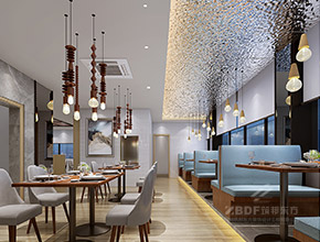 御园味茶楼餐厅装修设计