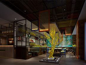 深圳西丽碳.将烤鱼主题餐厅设计